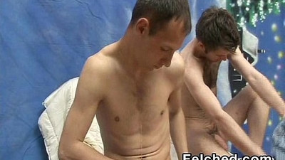 Gay Duo Cumswap After Felching