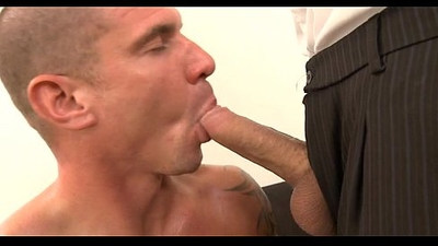 Salacious jock sucking session