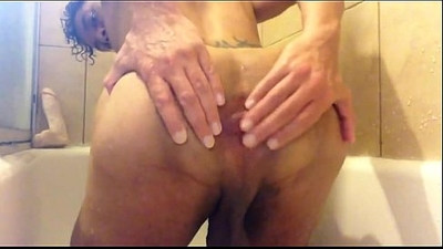 Wet Ass and The White Dildo