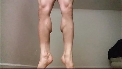 Dean Ironrod Leg and Calf Muscle Fetish