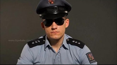 YOUNG COP SPITS AND BURP ON YOU