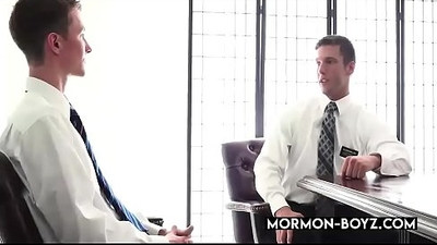 Muscular Hairy Office Jocks Banging And Cumming Together