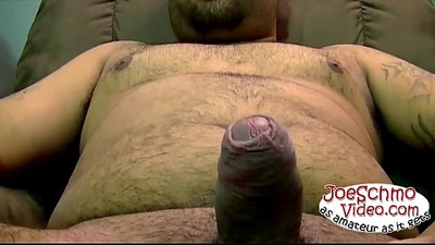 Straight Matt wanking and getting his big uncut dick sucked