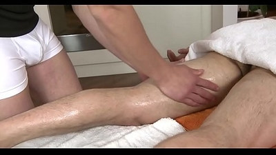 Sexy twink gets hard ramrod sucked by horny gay