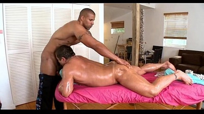 Delightful anal massage