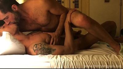 Gay Hunks Having Hot Foreplay