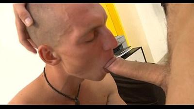 Obscene oral for lusty gay