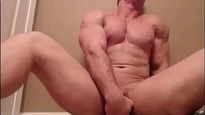 white bodybuilder