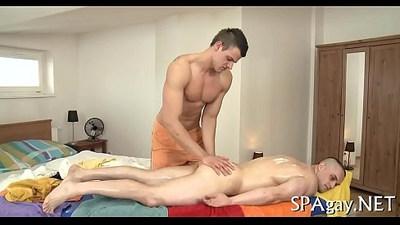Large jock gay massage