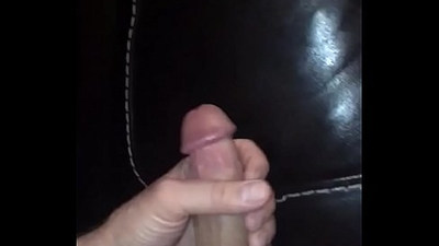 Bigcockcumshot tugs his thick hard mamba cock balls full of warm thick cremy cum unload a powerful cumload on my couch