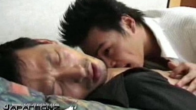 Japanese boys in kinky ass play and fuck action